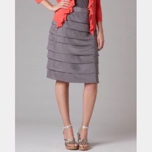 Boden Cascade 100% Silk Skirt
